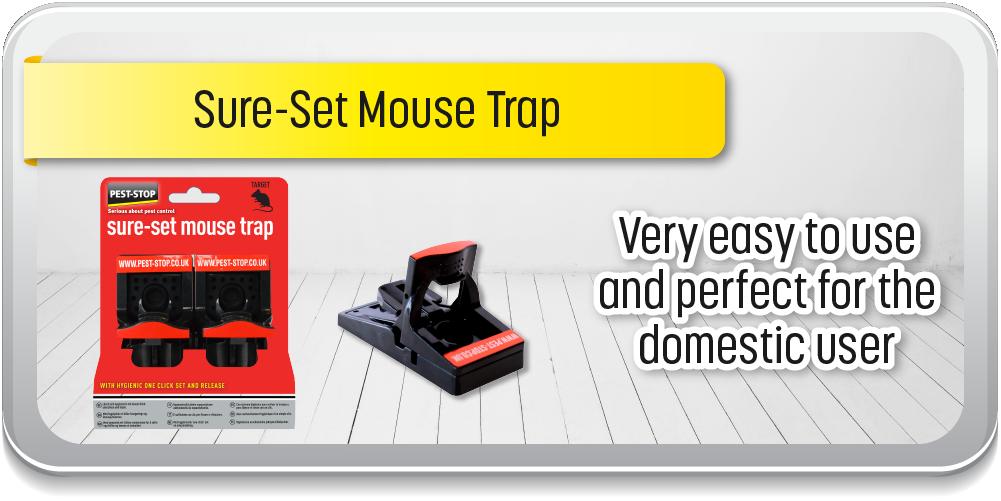 Pest-Stop Sure-Set Mouse Trap EN