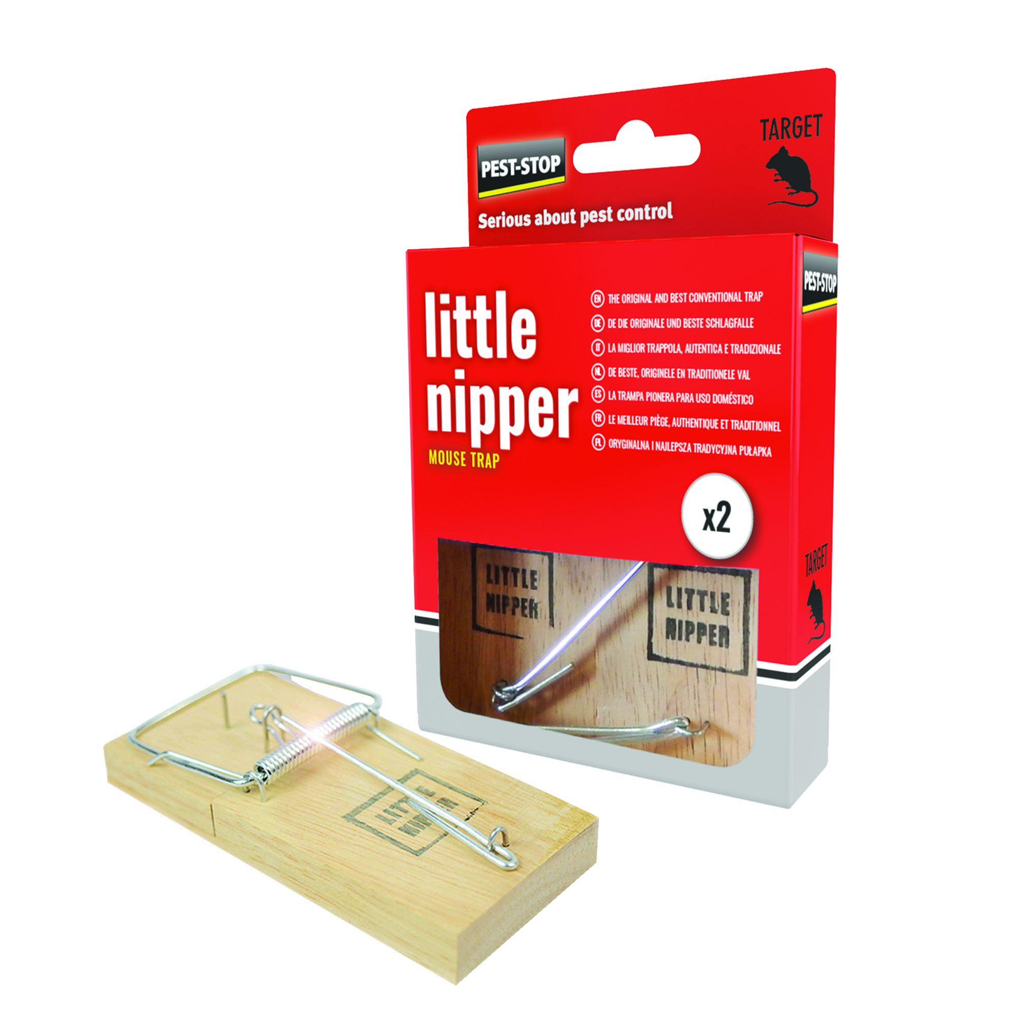 Pest Stop Little Nipper Mouse Trap Boxed