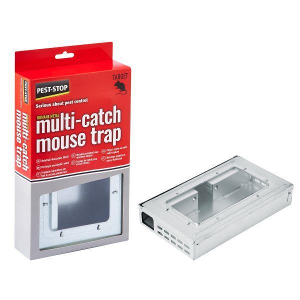 Multicatch Metal Mouse Trap